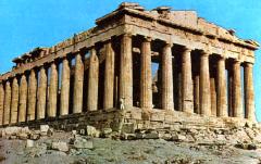 Il Partenone: da tempio, a chiesa, a moschea